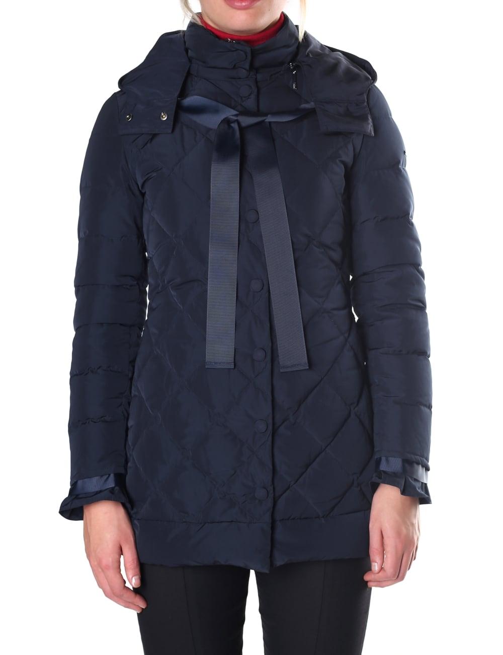 e51ed0894 Armani Jeans Bow Neck Women's Coat