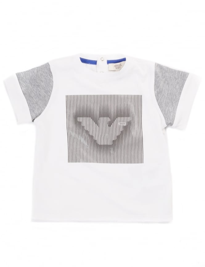 Armani Jeans Boys Eagle Logo Short Sleeve Tee