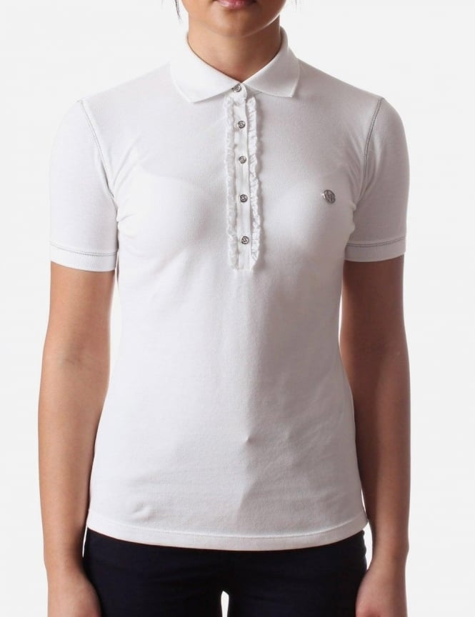 white polo short sleeve polo mileage in city