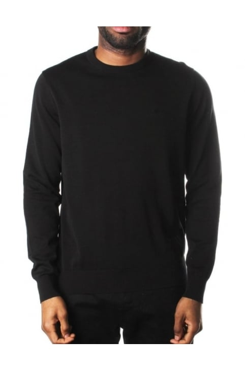 Crew Neck Men's Pullover Knit