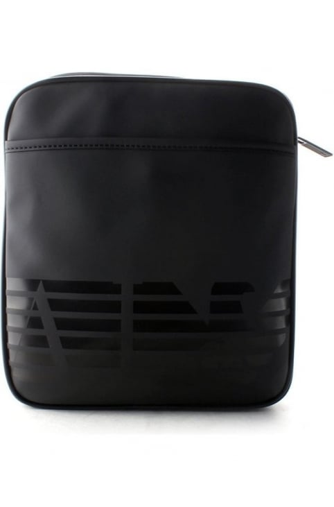 Eagle Logo Men's Crossbody Bag Black