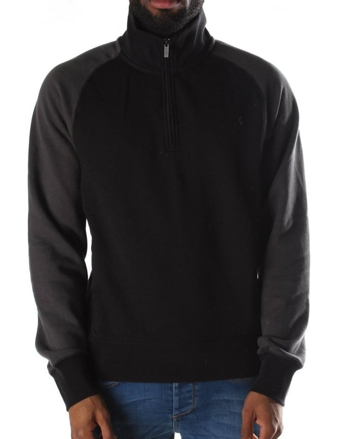 Armani Jeans Half Zip Men's Pullover Sweat