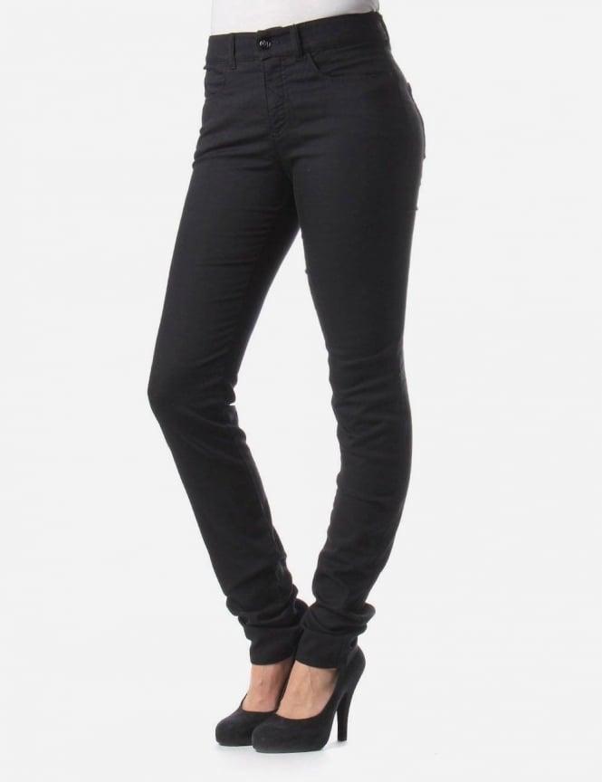 01c0b04e1a High Waist Slim Fit Women's Skinny Jean Black