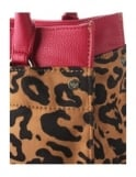 bb740aa91a53 Armani Jeans Leopard Print Women's Shopper Bag Red