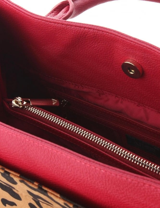b837be294bf9 ... Armani Jeans Leopard Print Women's Shopper Bag Red. Tap image to zoom. Leopard  Print Women's Shopper ...