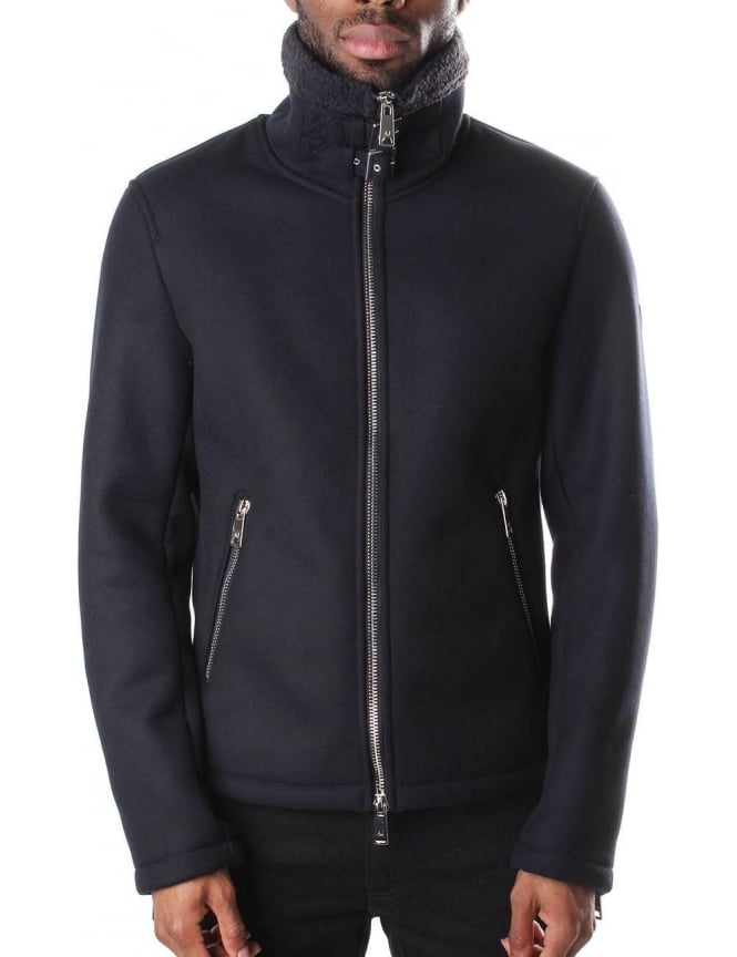 Armani Jeans Lined Zip Through Men's Jacket