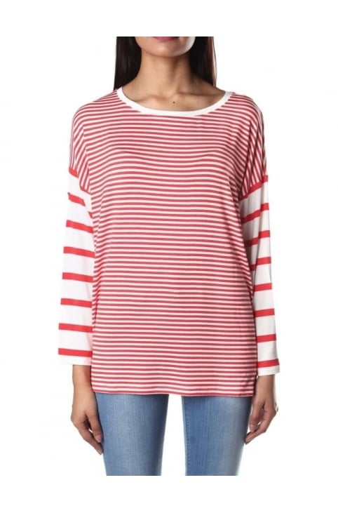 Long Sleeve Women's Striped Top