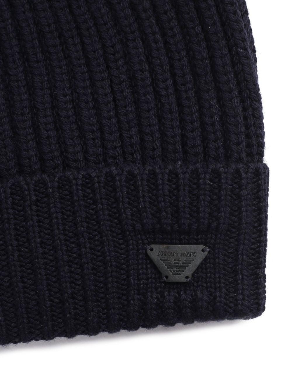 Armani Jeans Men s Beanie Hat ad09600ec81