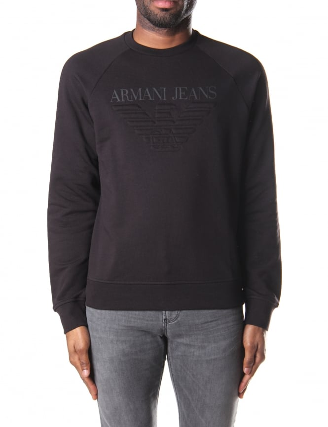 Armani Jeans Men's Crew Neck Sweat Top
