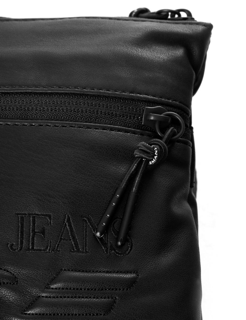Armani Jeans Men s Eagle Logo Messenger Bag d6ca3ec8966f4