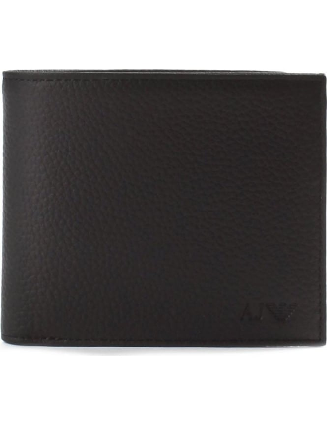 Armani Jeans Men's Embossed Logo Billfold Wallet