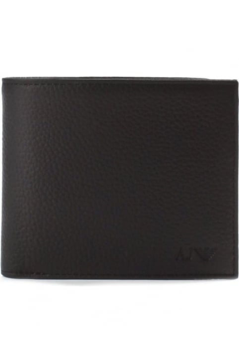 Men's Embossed Logo Billfold Wallet
