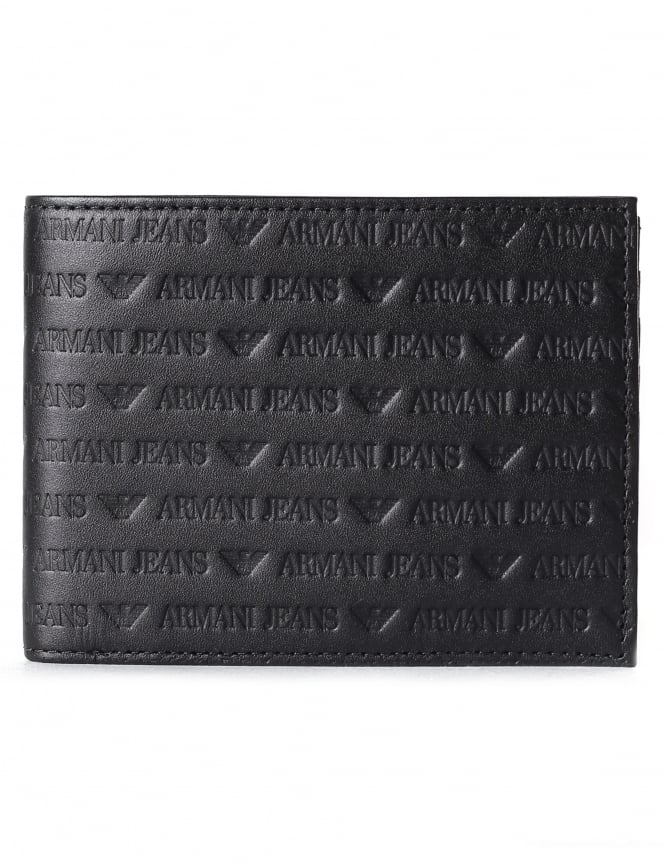 Armani Jeans Men's Embossed Wallet