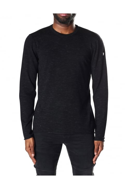 Men's Long Sleeve Crew Neck Pullover Knit