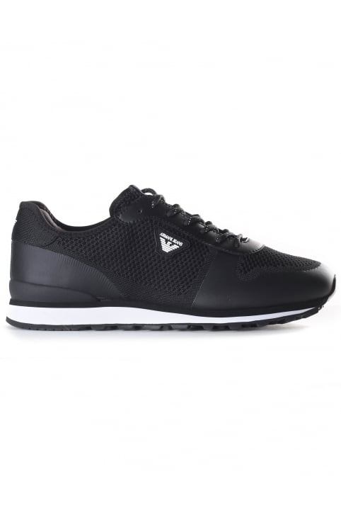 Men's Mesh Lace Up Trainer
