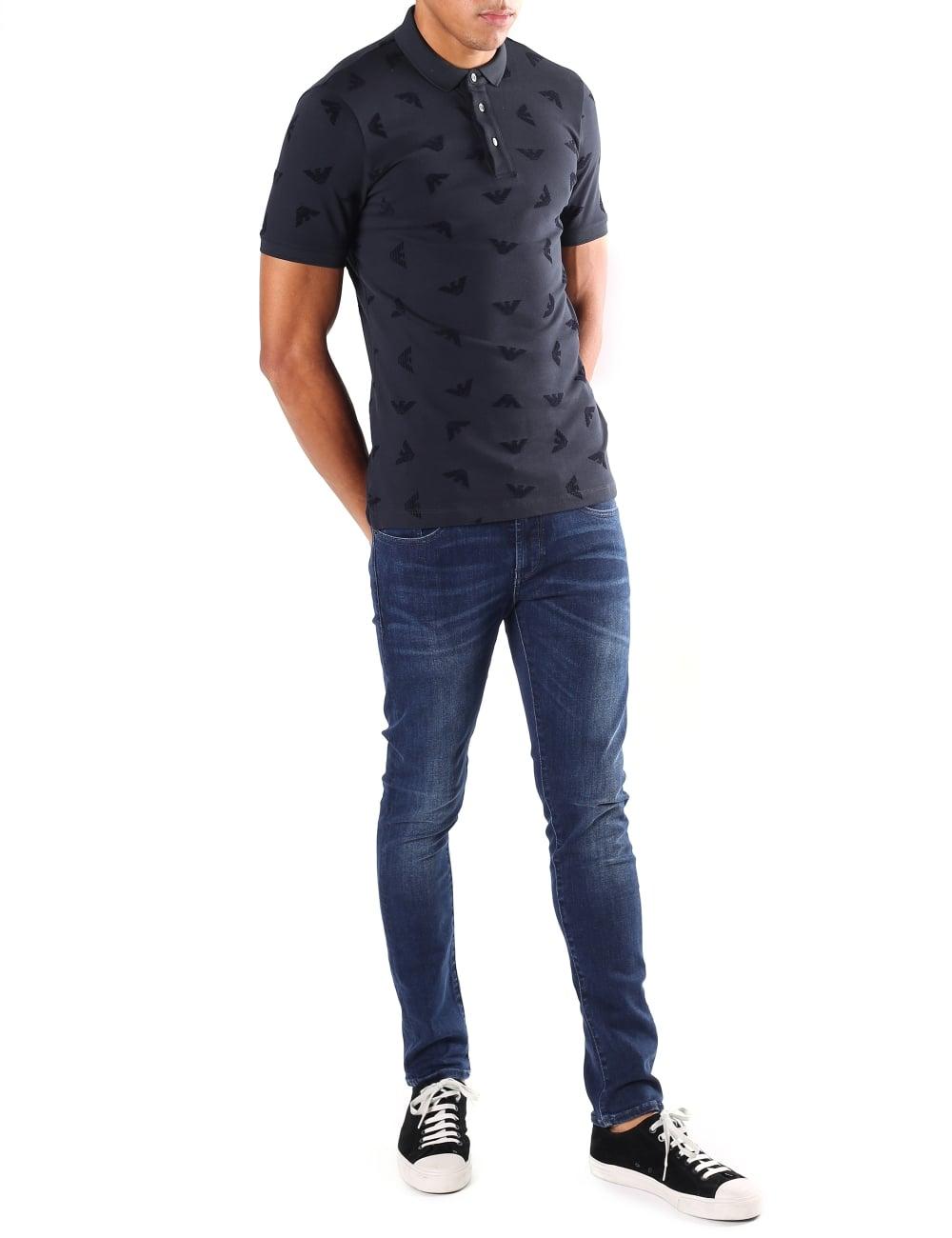 Armani Jeans Polo Top