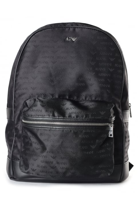 Men's Repeat Logo Rucksack