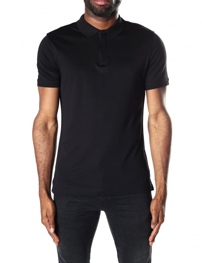 Armani Jeans Men's Short Sleeve Polo Top