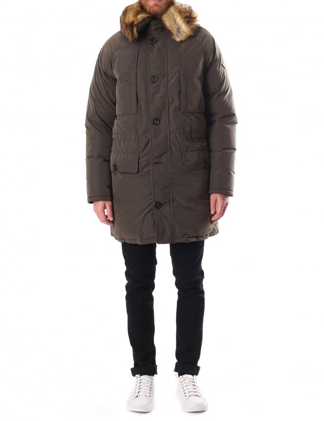 Armani Jeans Padded Men's Hooded Parka
