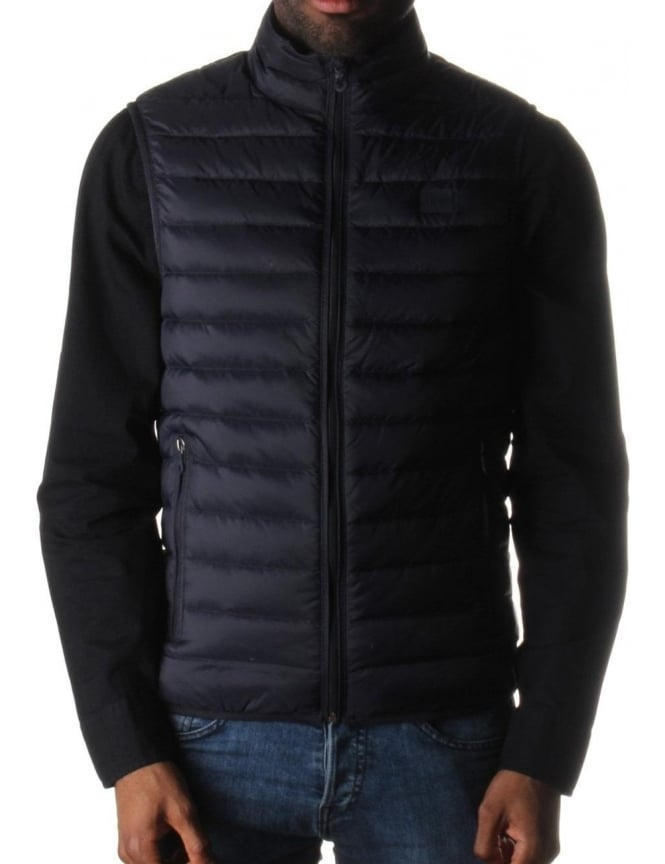 Armani Jeans Quilted Men's Zip Through Gilet