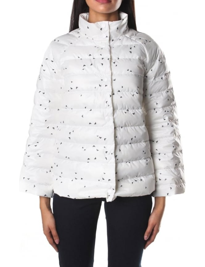 Armani Jeans Repeat Logo Women's Puffa Jacket