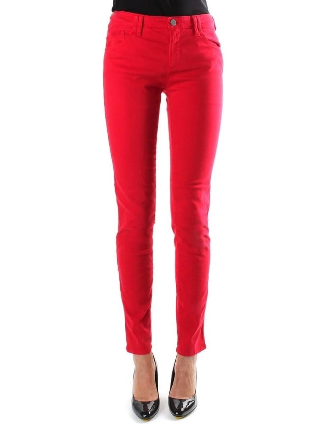 Armani Jeans Skinny Fit Regular Waist Women's Jeans