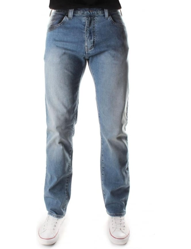 Armani Jeans Slim Fit Straight Leg Men's Jean