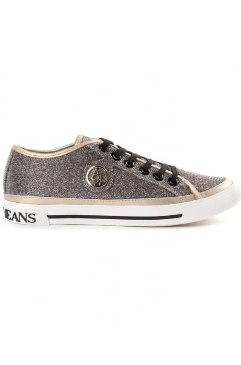 Sparkle Women's Low Top Trainers Gold