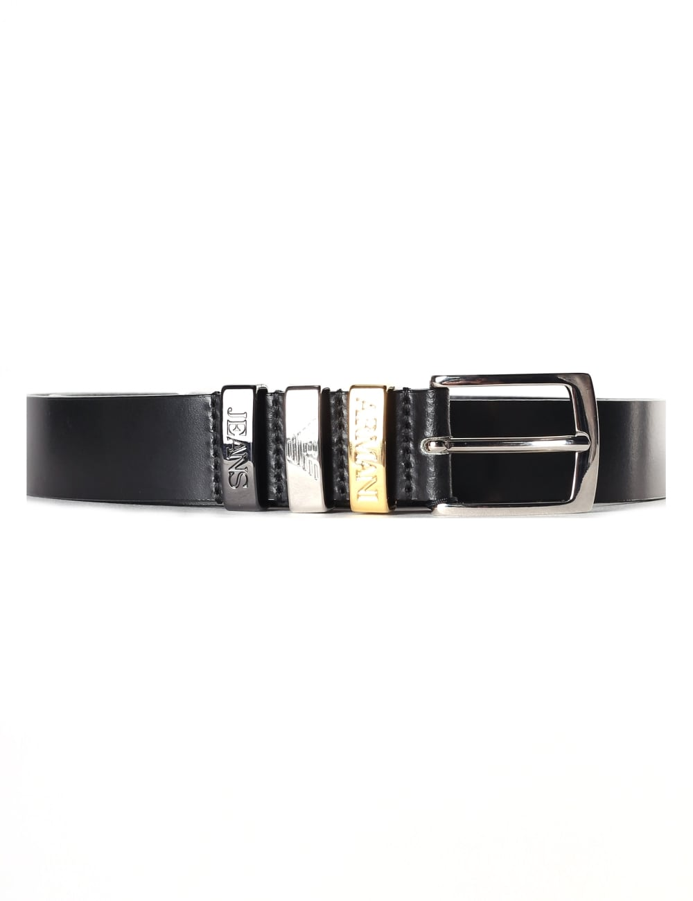Armani Jeans Women s Leather Belt 2a7e897fe1