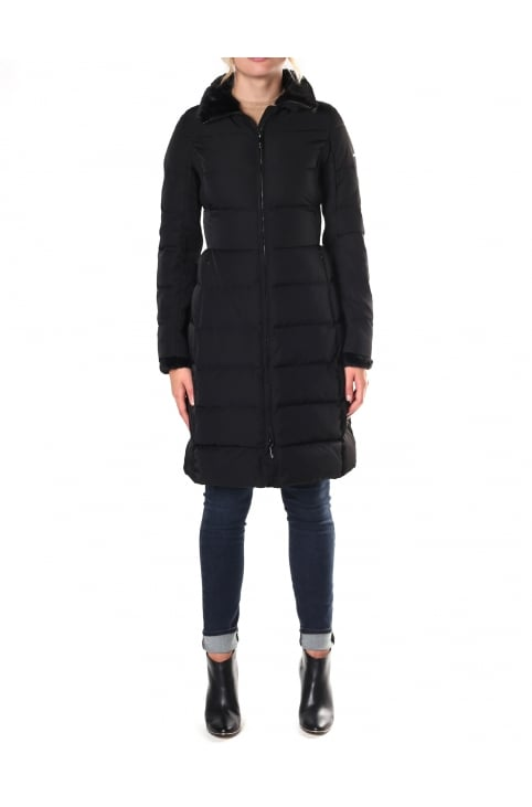 Women's Long Quilted Jacket