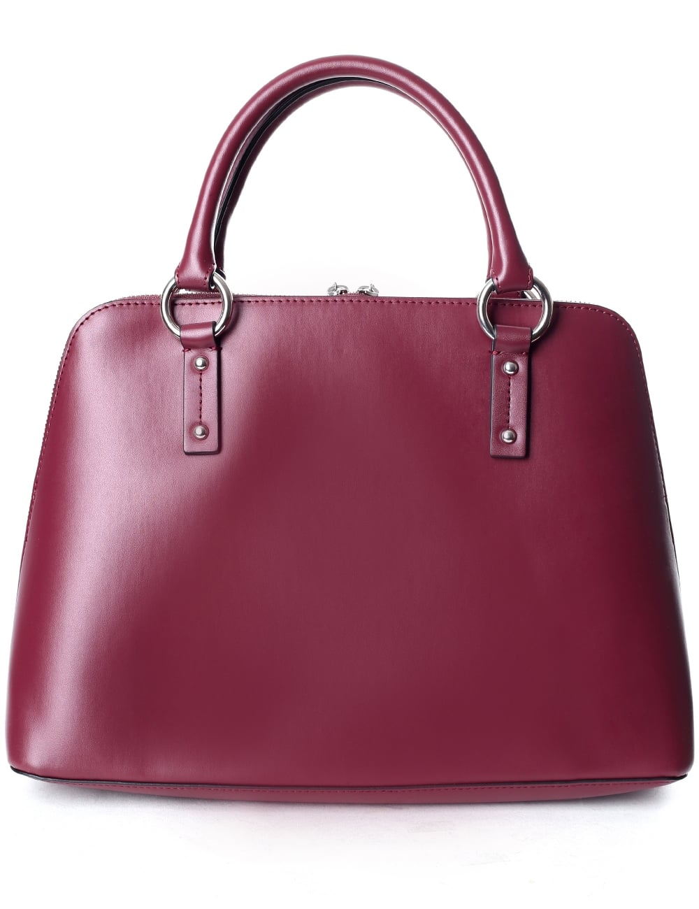 575df234d333 Armani Jeans Women s Top Handle Bag Burgundy