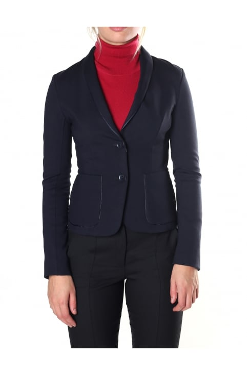 Women's Two Button Blazer Jacket