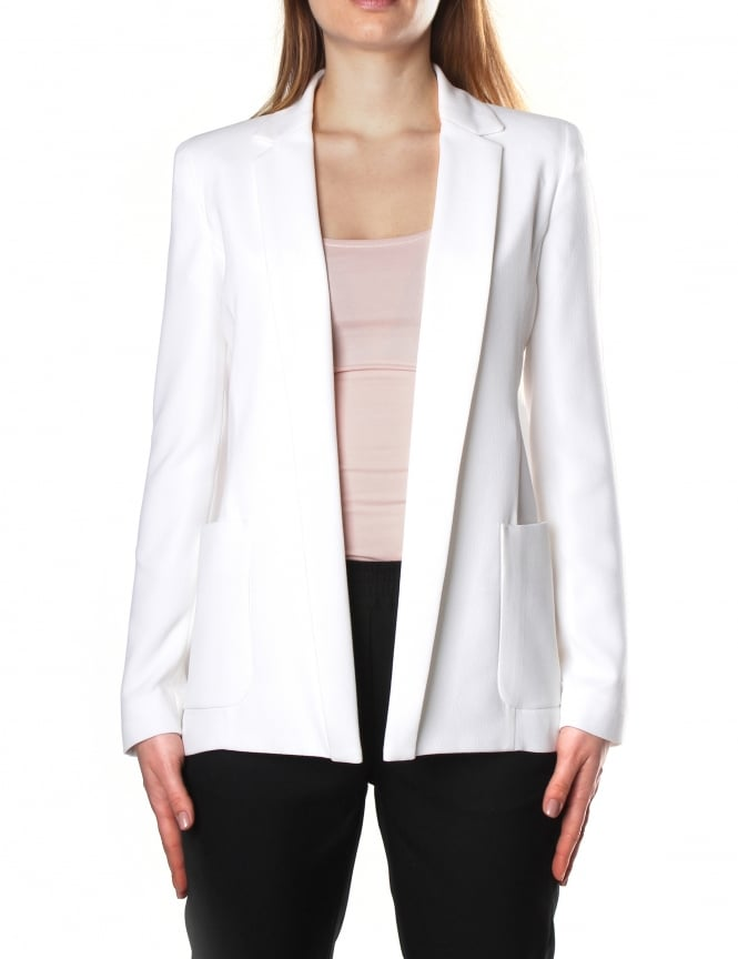 Armani Jeans Women's Two Pocket Blazer Jacket