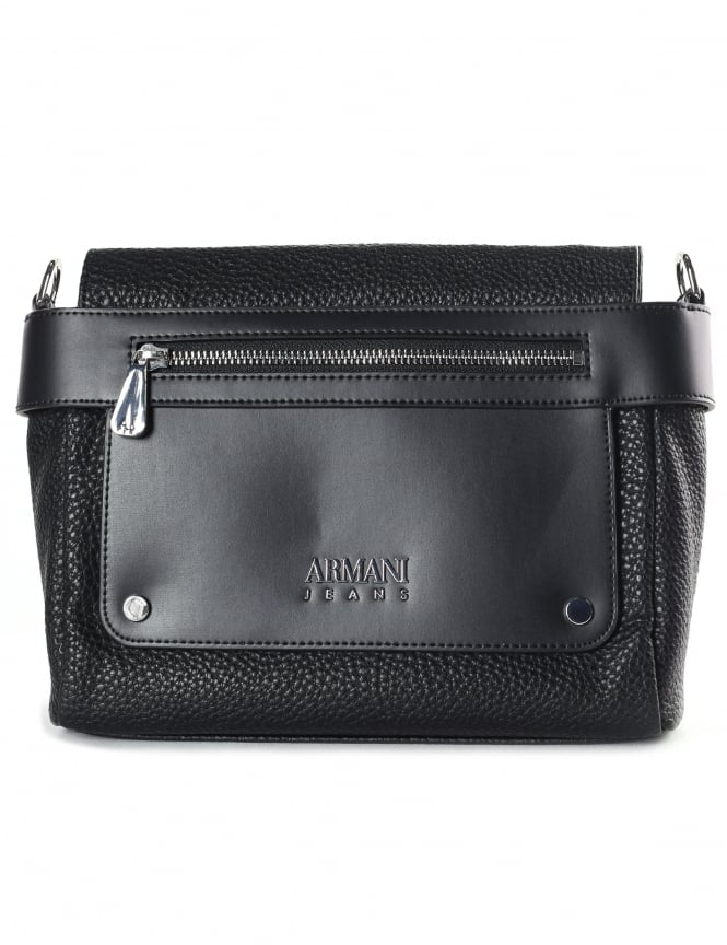 Armani Jeans Women's Zip Front Crossbody Bag