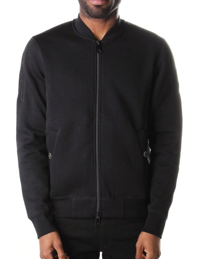 Armani Jeans Zip Through Men's Sweat Top