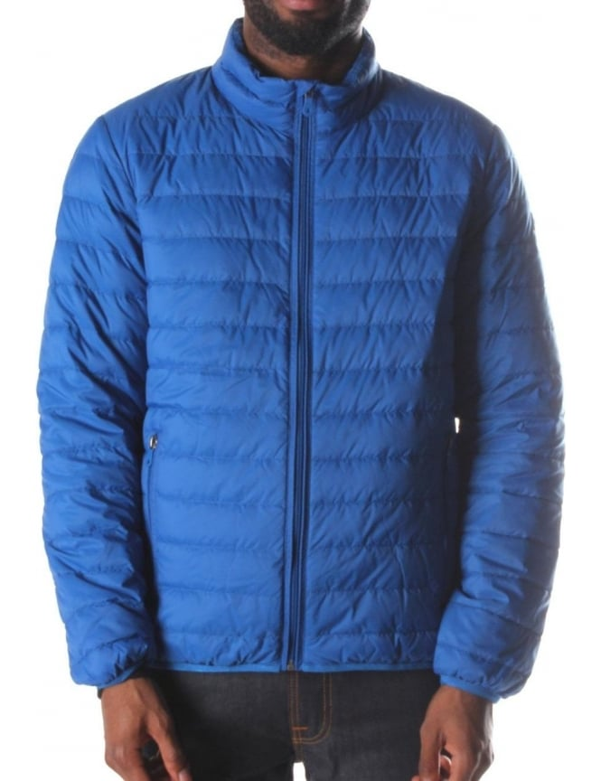 Armani Jeans Zip Through Quilted Men's Jacket Blue