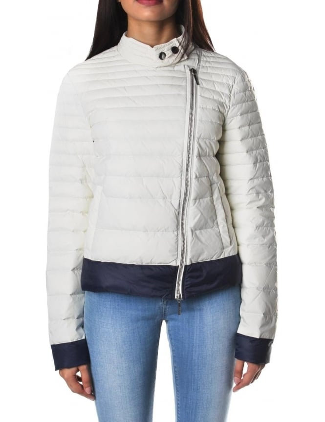 Armani Jeans Zip Through Women's Quilted Jacket