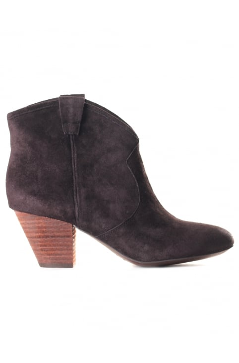 Women's Jalouse Suede Boots Woodash