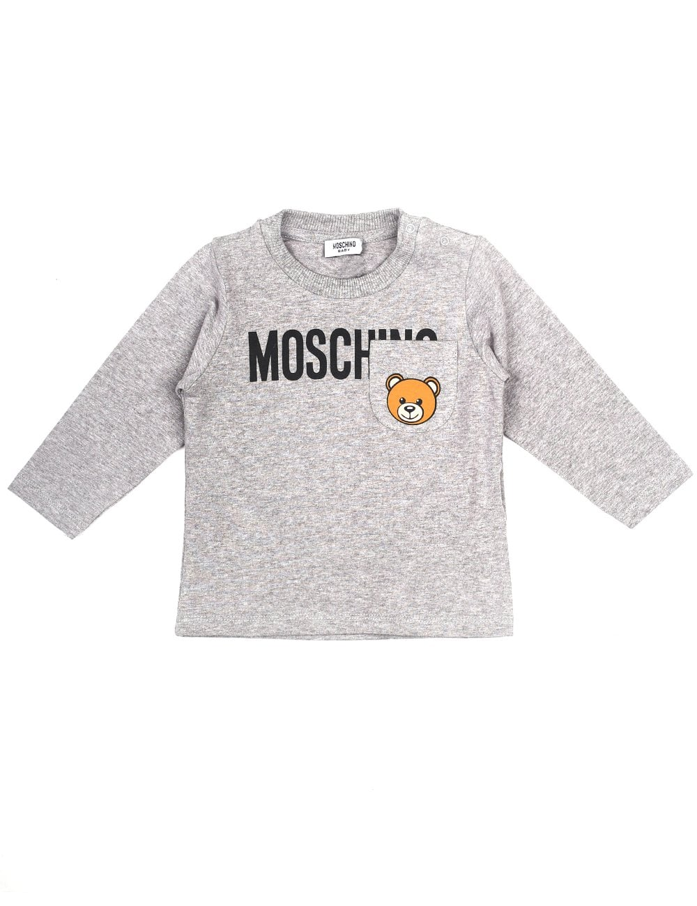 5920cf9133 Moschino Kids Baby And Toddler Long Sleeve Pocket Tee