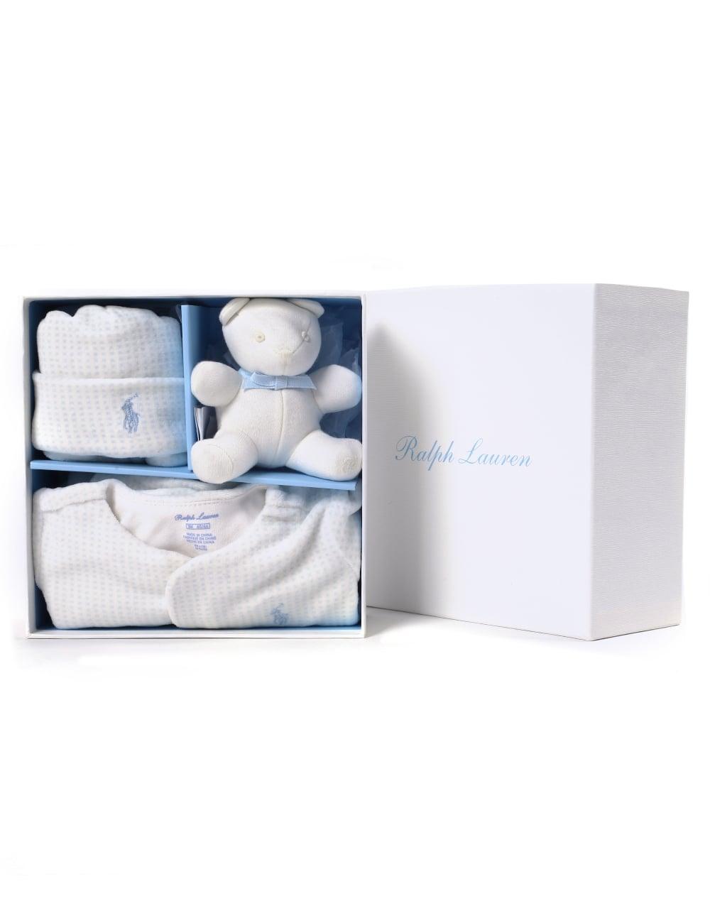 9ab0b76e5 Polo Ralph Lauren Baby Boy 3 Piece Gift Box
