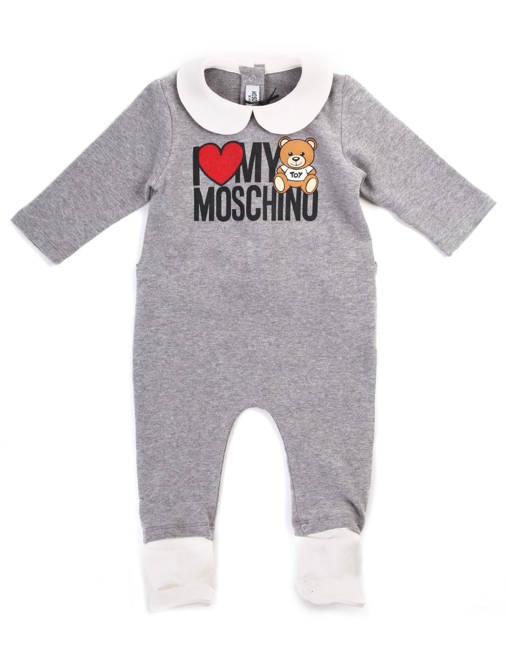 8b19b1399bf Moschino Baby Boy I Love Moschino Baby Grow