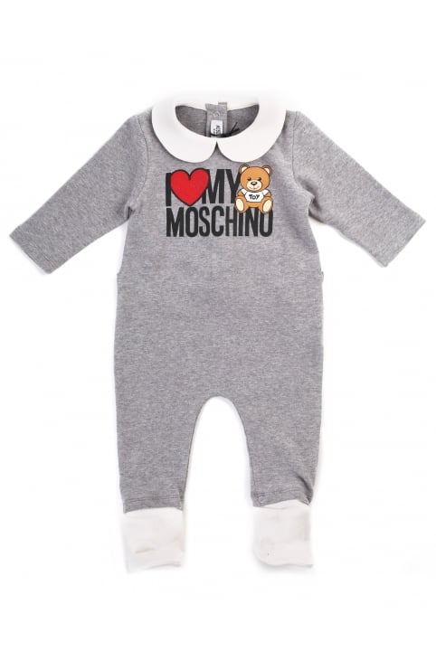 Baby Boy I Love Moschino Baby Grow