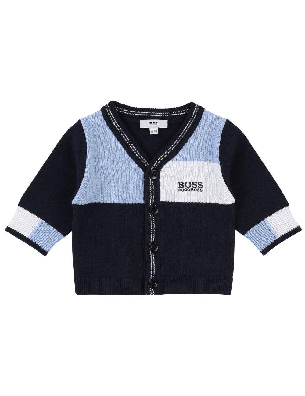 c9c127998 Hugo Boss Kids Baby Boys Knitted Cardigan