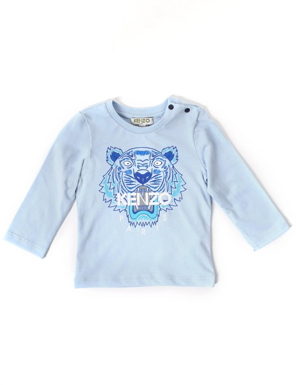 ac453e39 Kenzo Baby Boys Tiger 47 Long Sleeve Tee