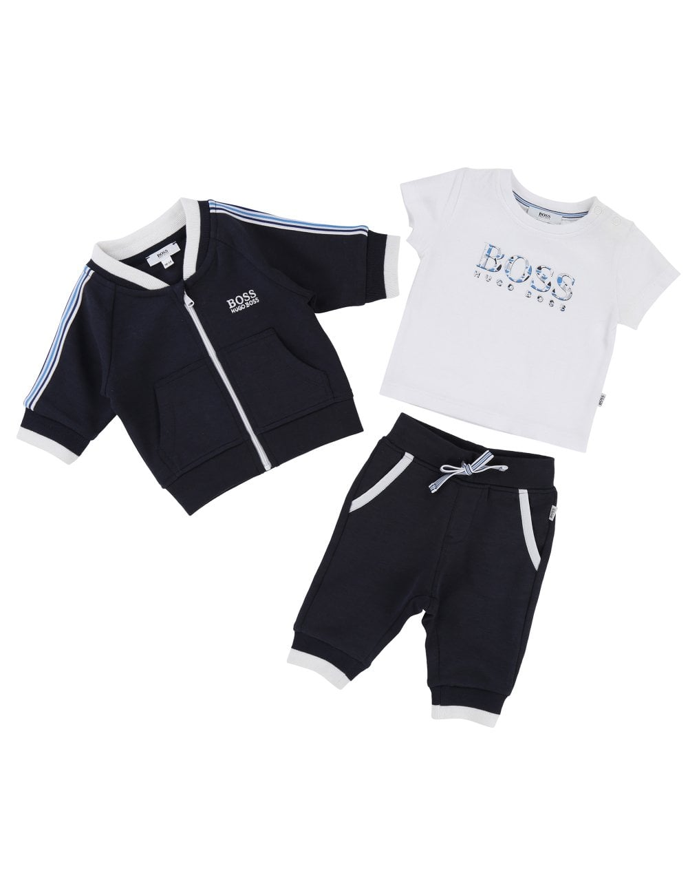 cec868863 Hugo Boss Kids Baby Boys Tracksuit Outfit