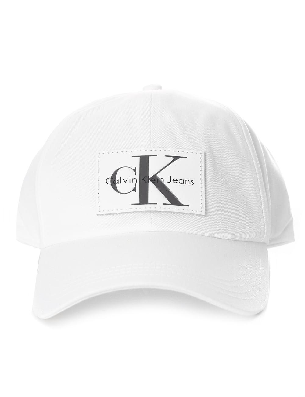 bb1b0253390062 Calvin Klein Badge Logo Women's Baseball Cap