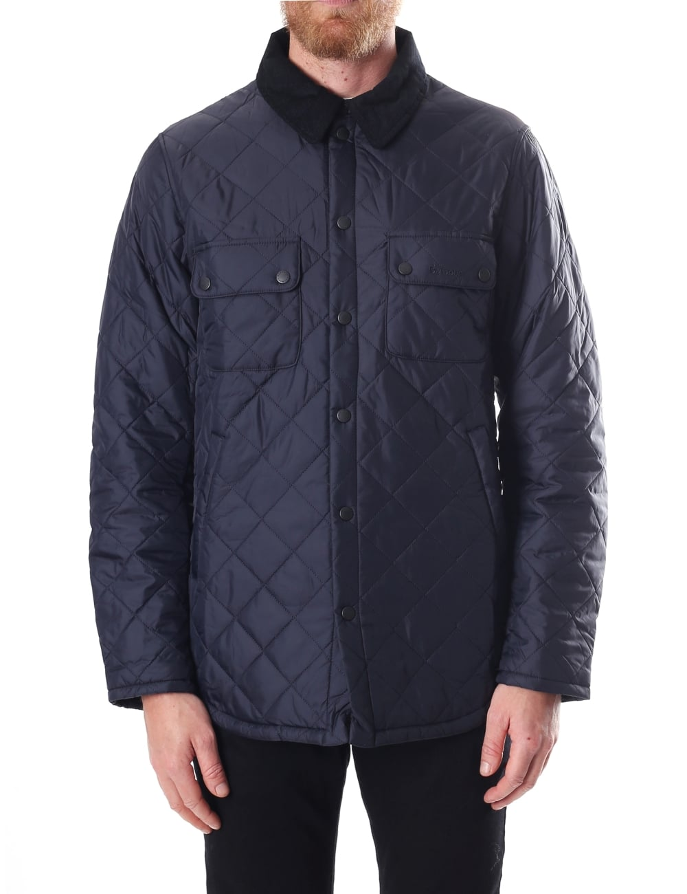 navy men barbour image mens jacket heritage gimbal quilt quilted