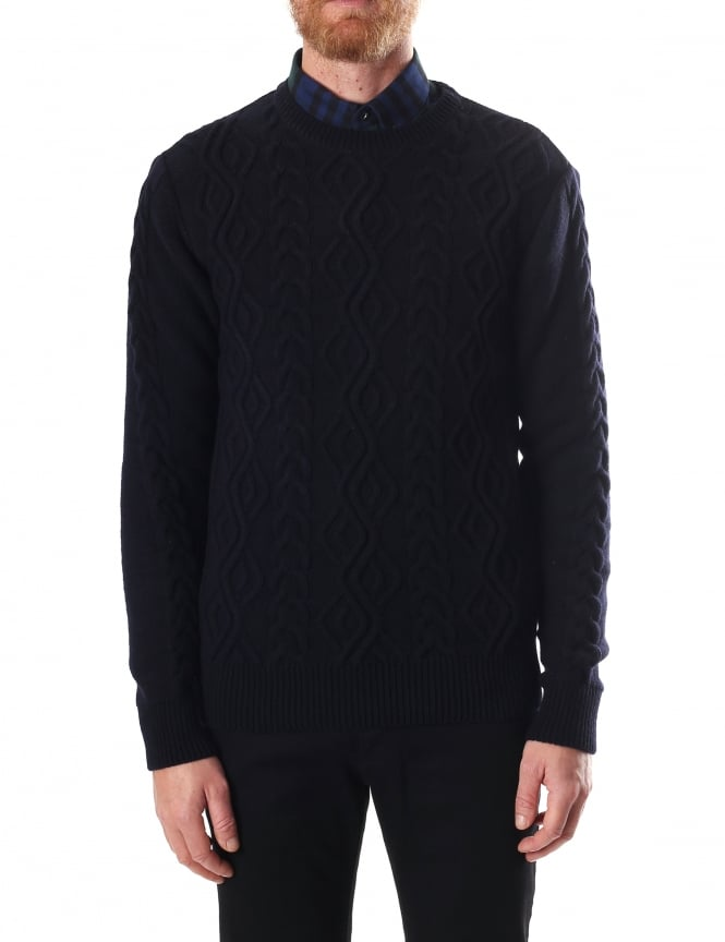 Barbour Bernard Men's Crew Neck Jumper