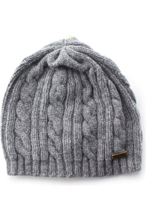 Blaydon Women's Cable Beanie Grey