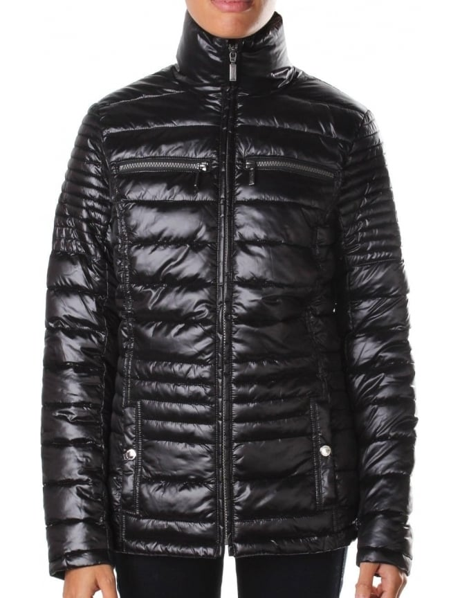 Barbour Camber Women's Baffle Quilted Jacket Black